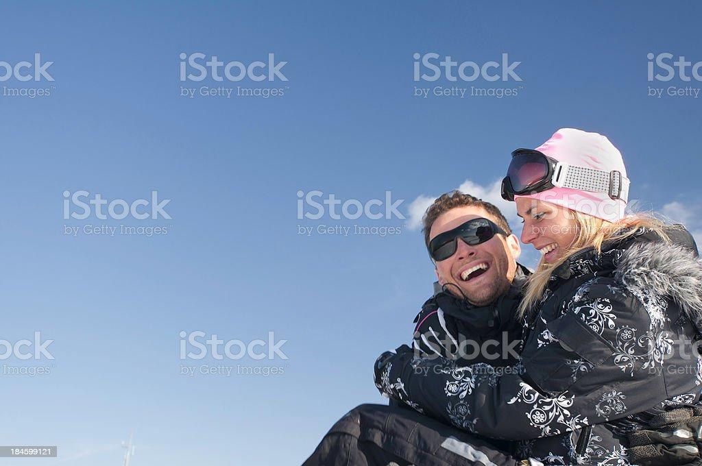 Winter fun royalty-free stock photo