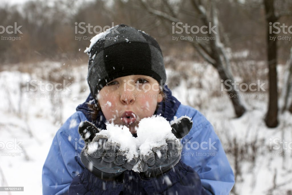 Winter games. royalty-free stock photo