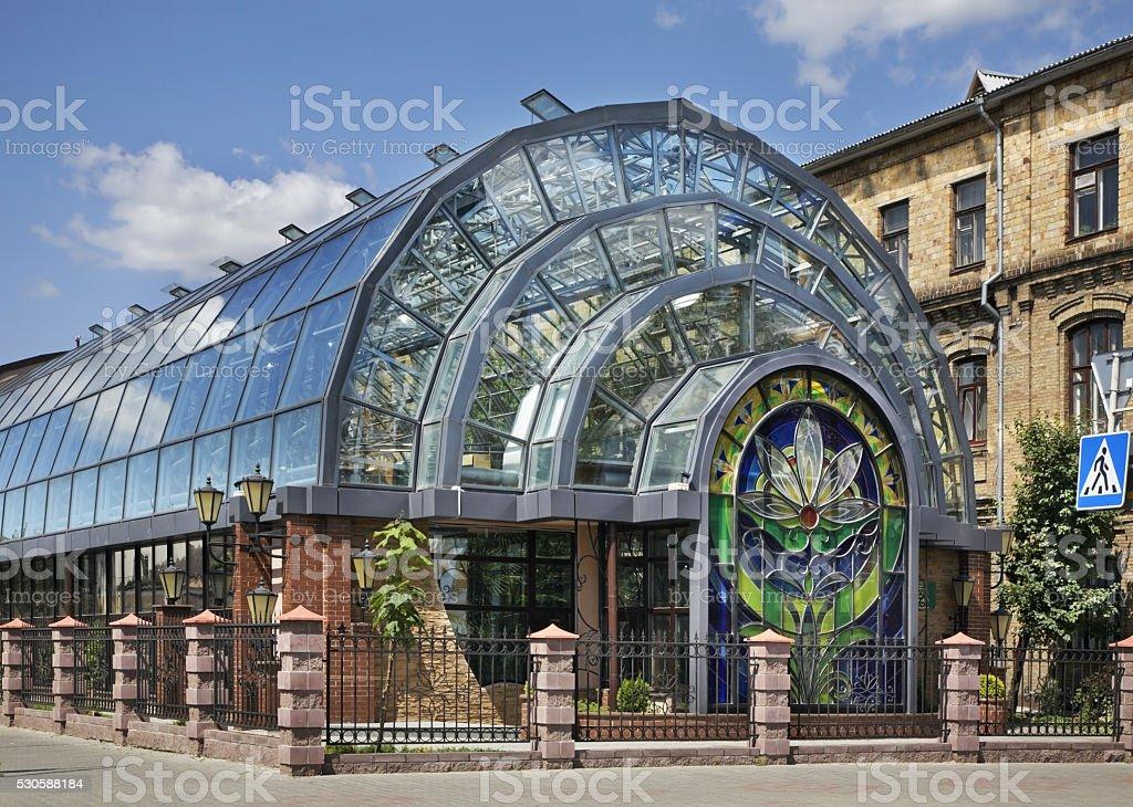 Fotografía de Jardín De Invierno En Brest Bielorrusia y más banco de ...