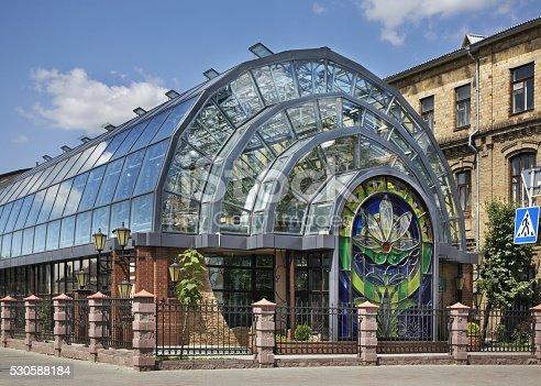 istock Winter Garden in Brest. Belarus 530588184