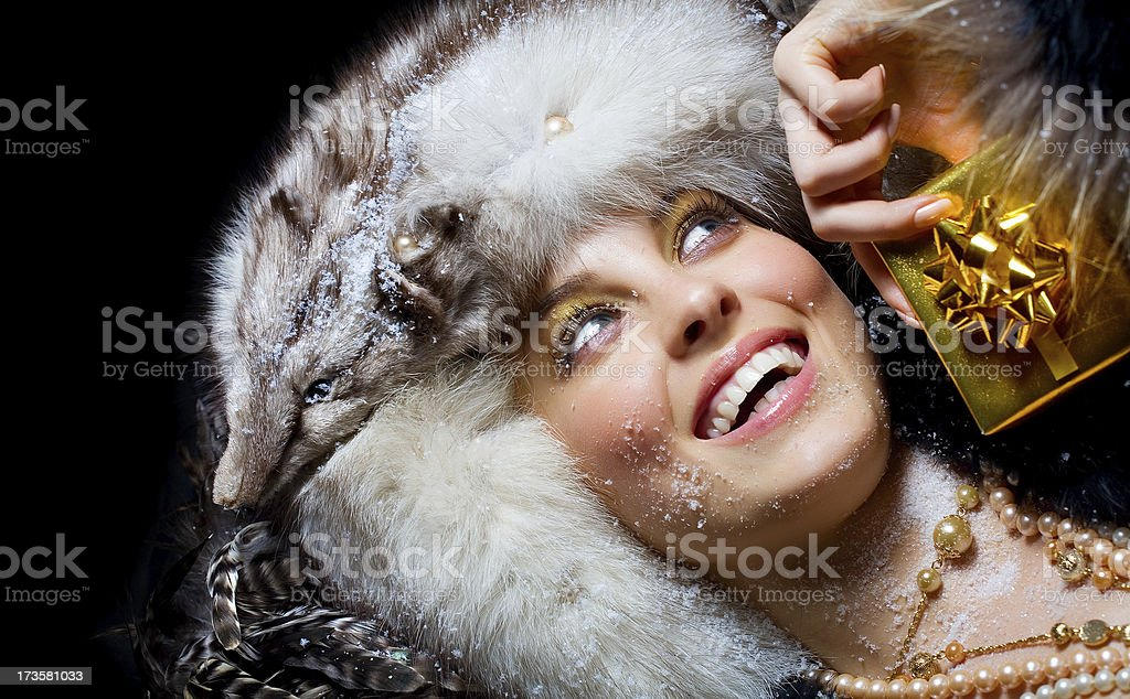Winter Gifts stock photo