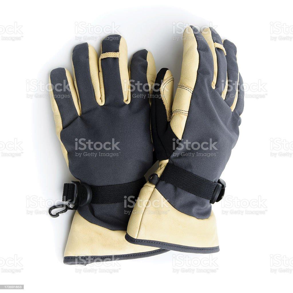 Winter Gloves royalty-free stock photo