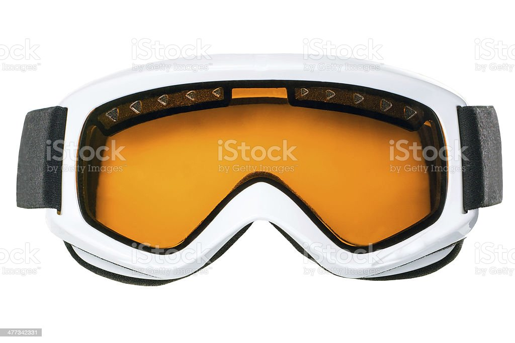 Winter goggles stock photo