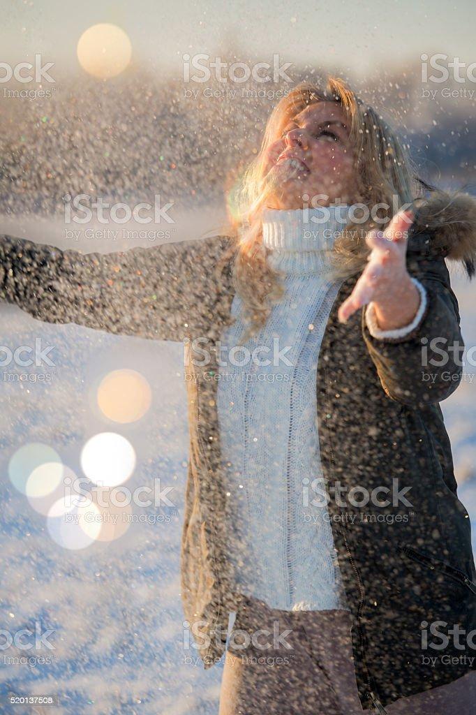 Пришла зима royalty-free stock photo