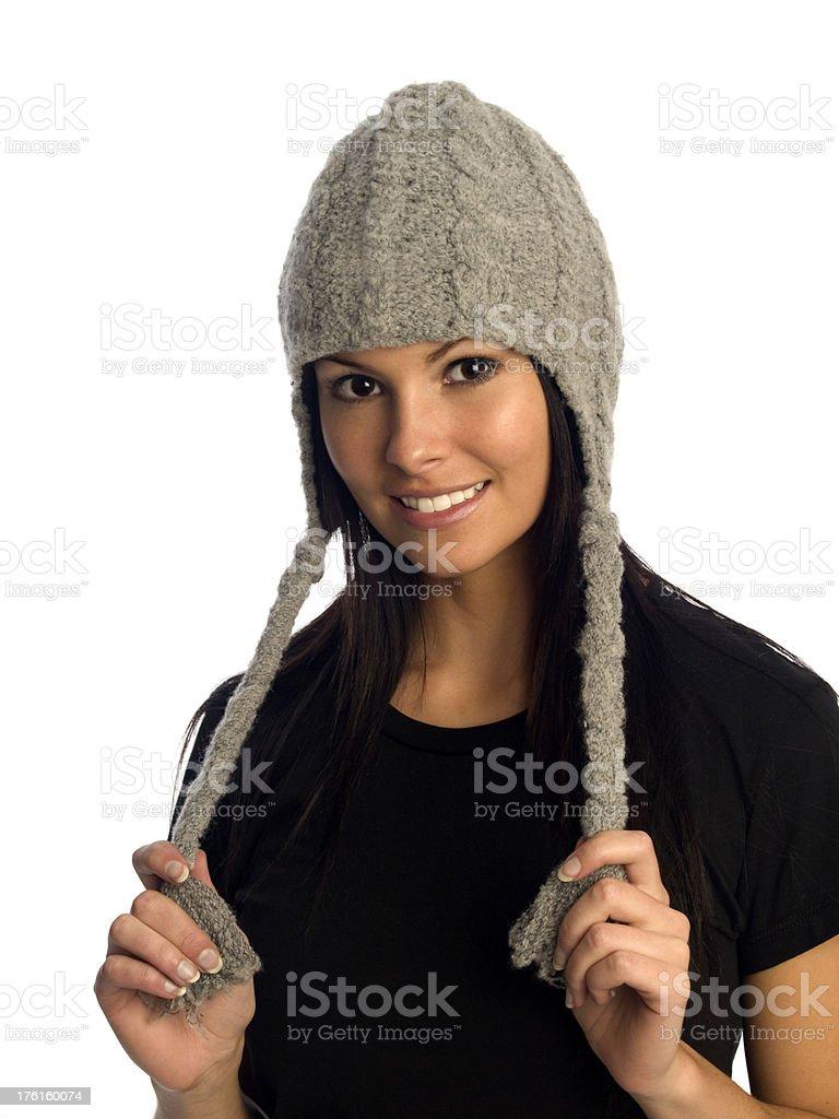 Winter Headwear royalty-free stock photo