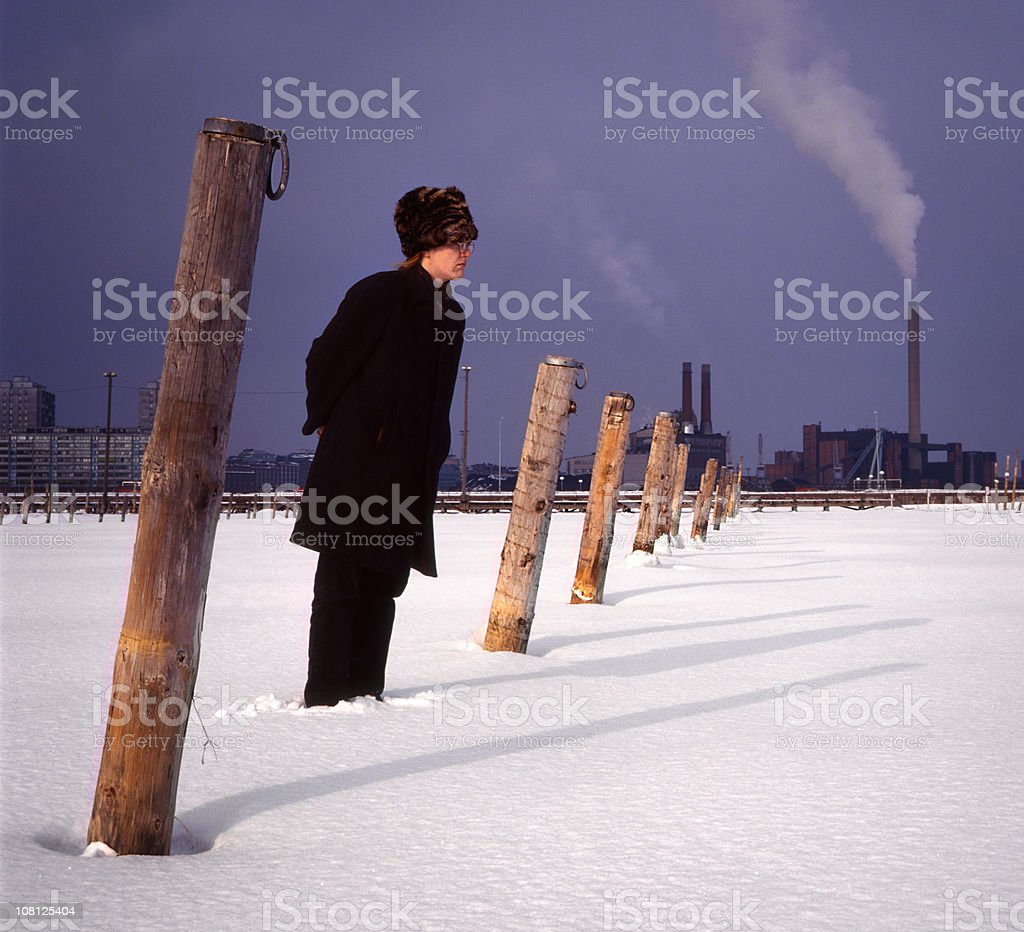 Winter Helsinki Finland  Adult Stock Photo
