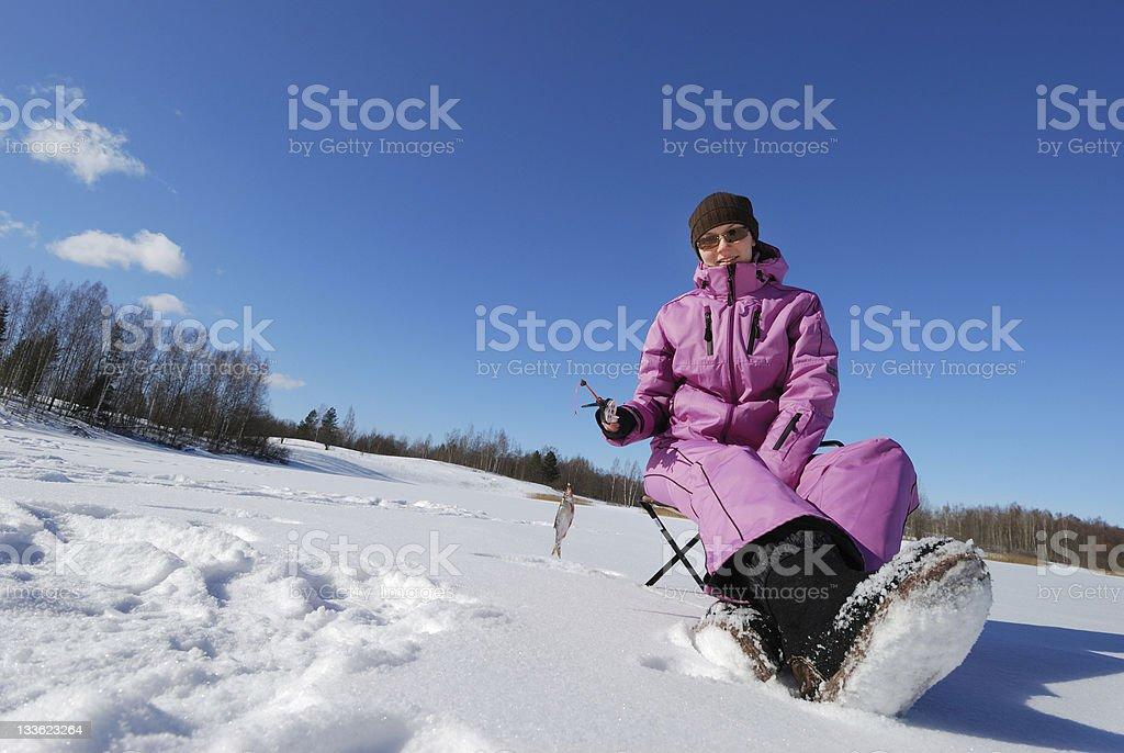 Winter hobby stock photo
