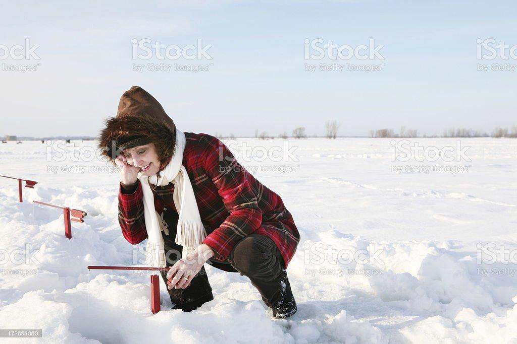 Winter hobby royalty-free stock photo