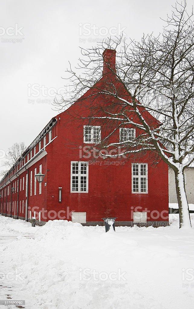 Winter in Copenhagen royalty-free stock photo