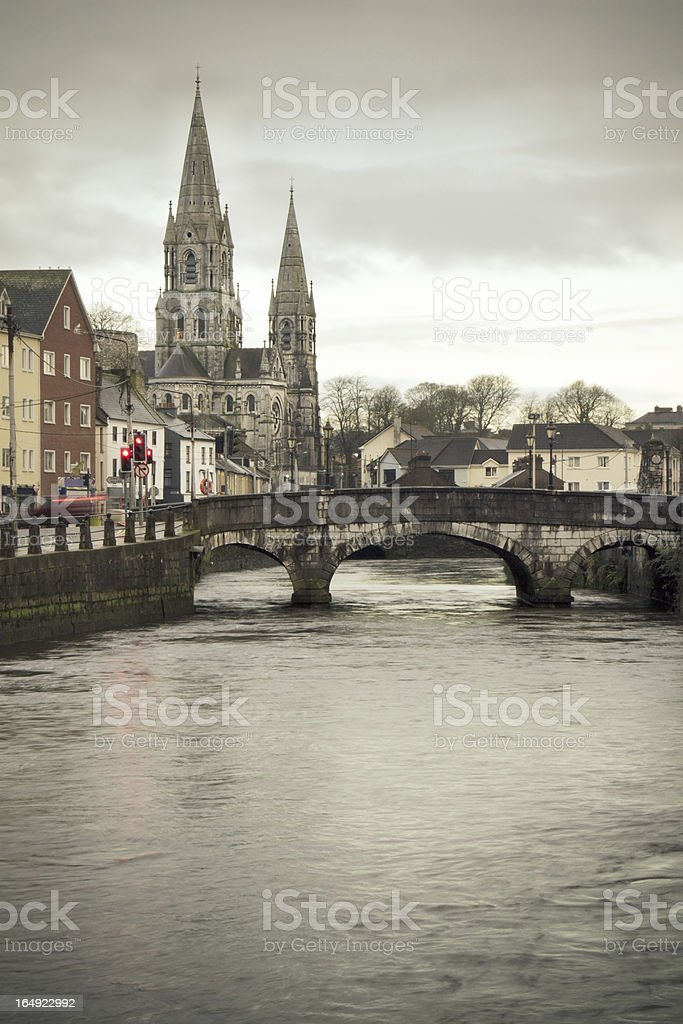 Winter in Cork stock photo