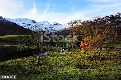 Snow on Hart and Dove Crags