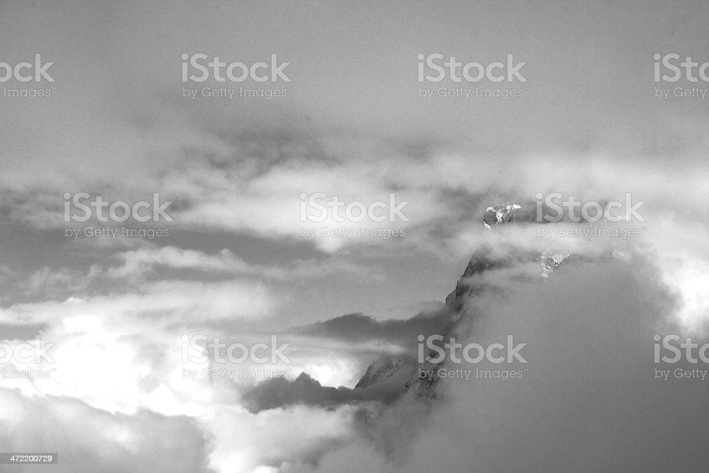 Winter in Grindelwald - Switzerland royalty-free stock photo