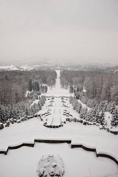 winter in kassel - andreas weber stock-fotos und bilder