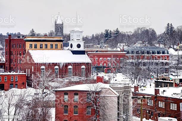 Winter in Nashua, New Hampshire