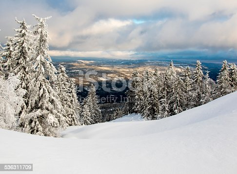 istock Winter in Norway 536311709