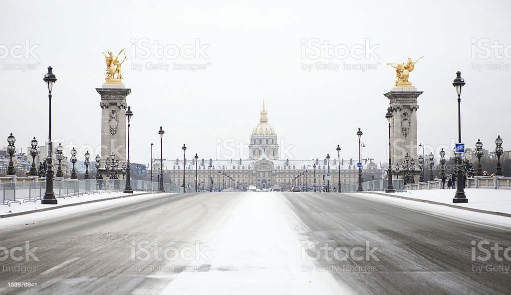 Winter in Paris – Foto