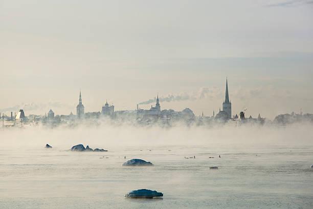 Hiver à Tallinn - Photo