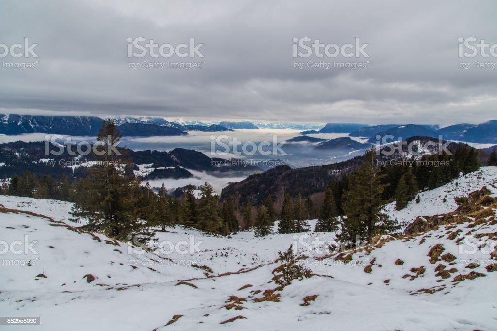 Winter in den Alpen, Bayern, Deutschland – Foto