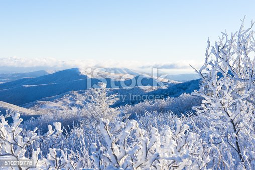 istock Winter In The Blue Ridge Mountains 510219778