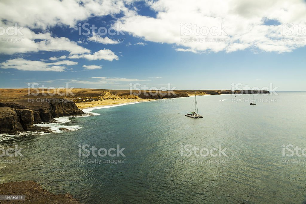 Winter in the Canary Islands royalty-free stock photo