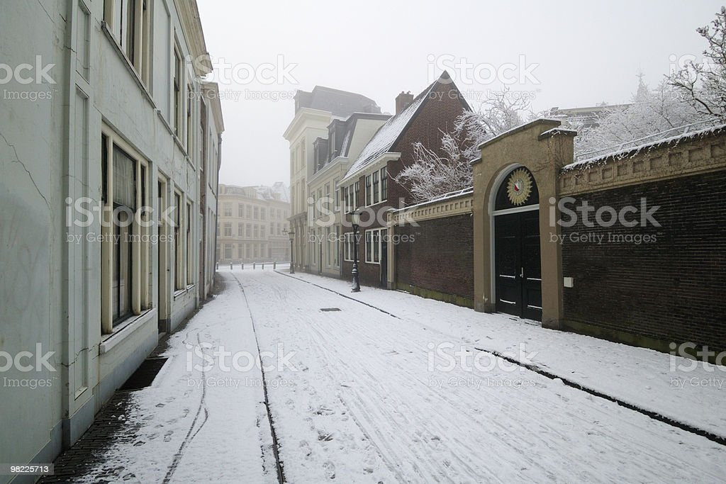 Winter in Utrecht royalty-free stock photo