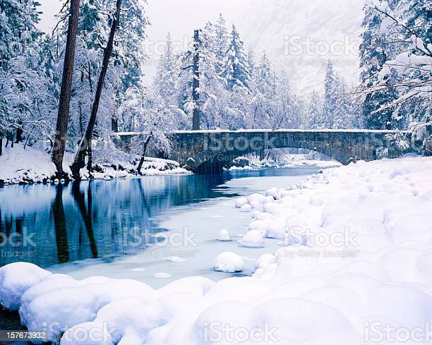 Photo of Winter In Yosemite National Park