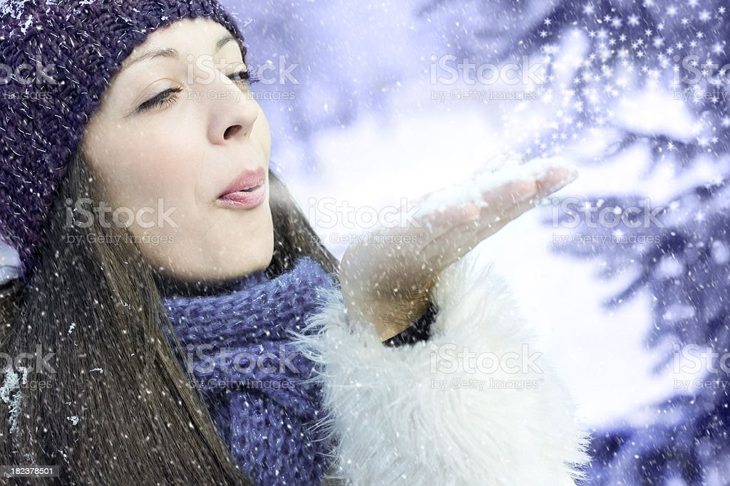 Winter is back! royalty-free stock photo