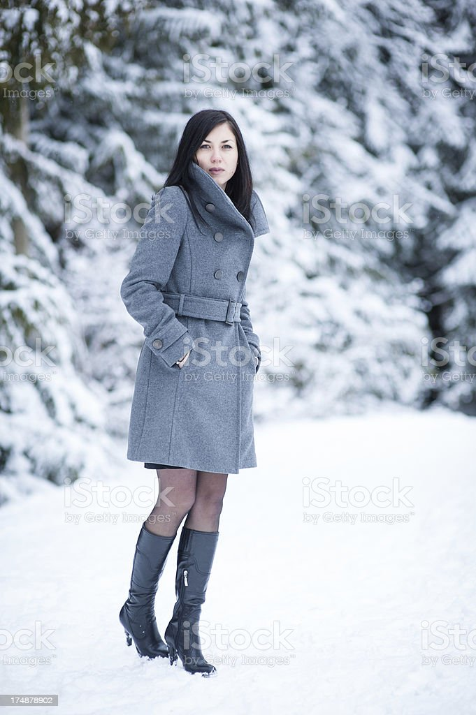 Winter Jacket royalty-free stock photo