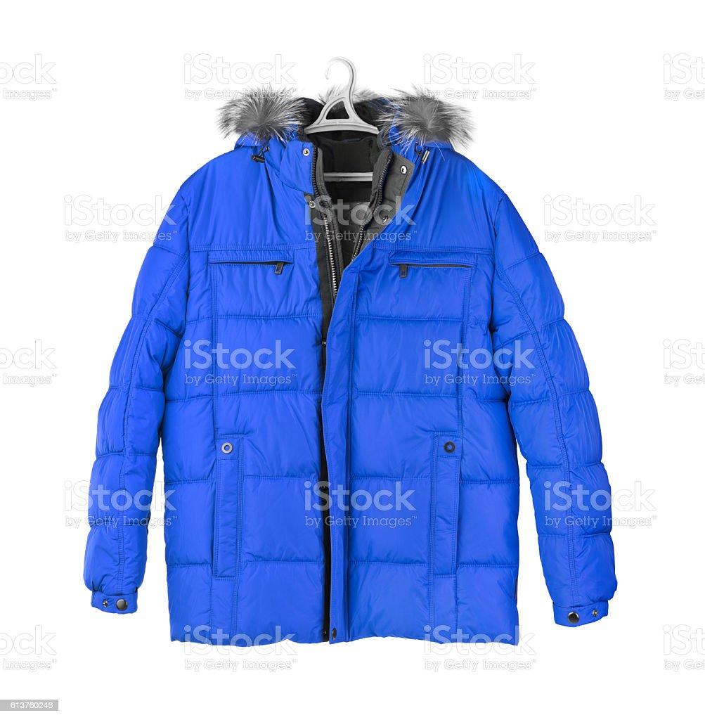 Winter jacket stock photo