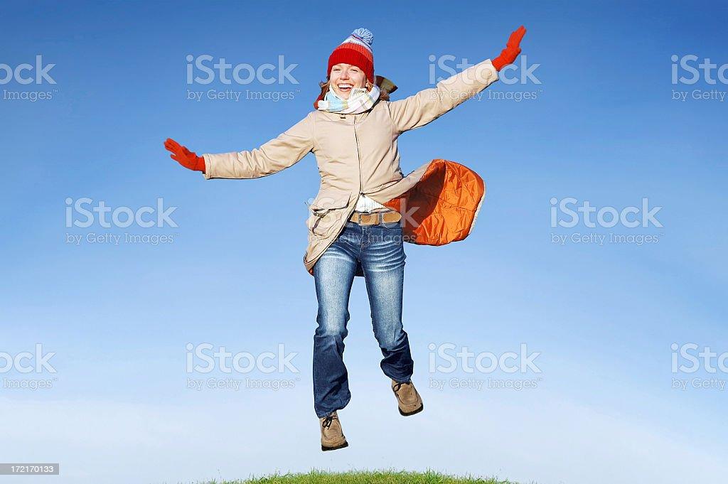 Winter joy [2] royalty-free stock photo