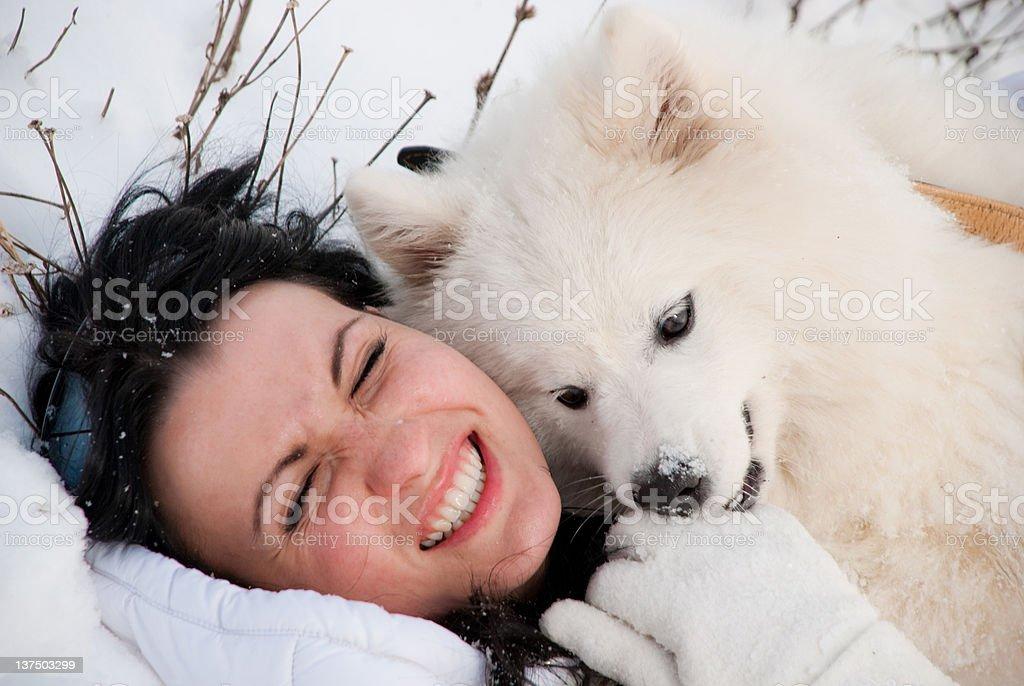 winter joy royalty-free stock photo