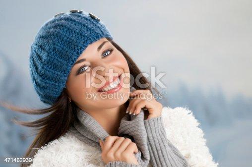 istock Winter joyful moment 471462939