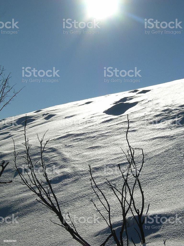 Winter Landscape 05 royalty-free stock photo