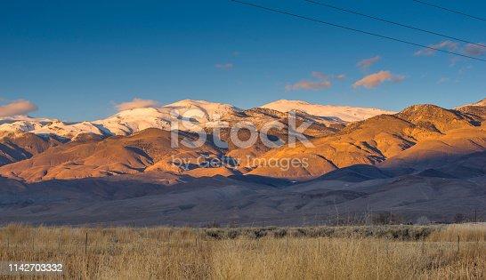 California, Bishop - California, Snow, Farm, Owens Valley - California