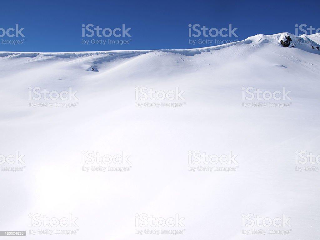 Winter landscape background royalty-free stock photo