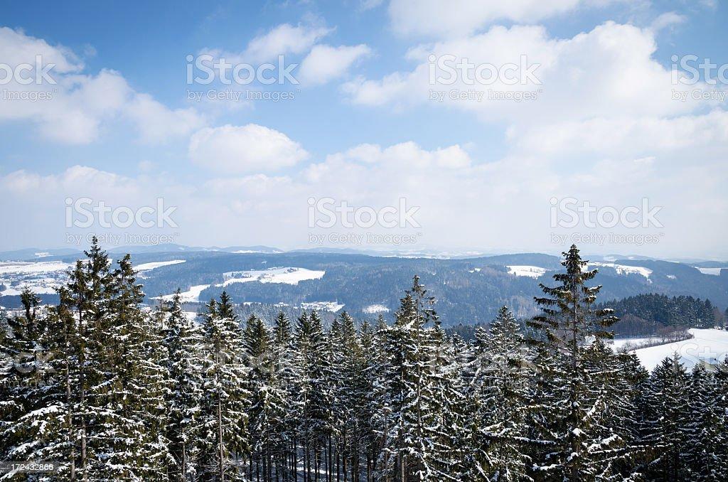 Winter landscape in Austria royalty-free stock photo