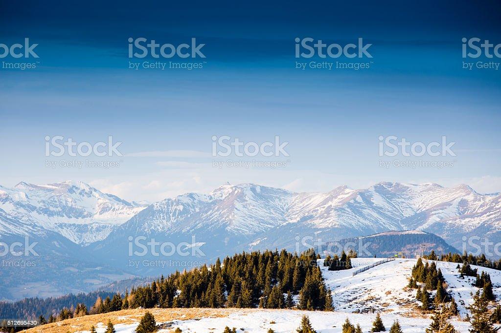 Winter landscape in Austria - Royalty-free Austria Stock Photo