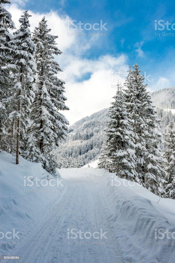 Winter-Landschaft in Österreich – Foto