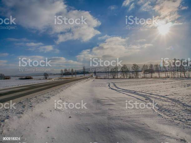 Photo of Winter landscape in Malopolska