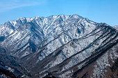 istock Winter landscape in Pyeongchang, Gangwon Province in South Korea . 468655836