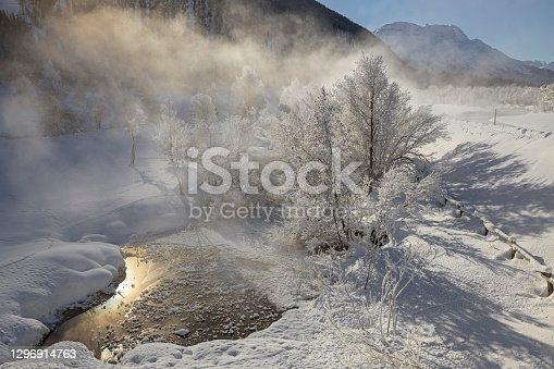 istock Winter landscape in the Engadine, St. Moritz 1296914763