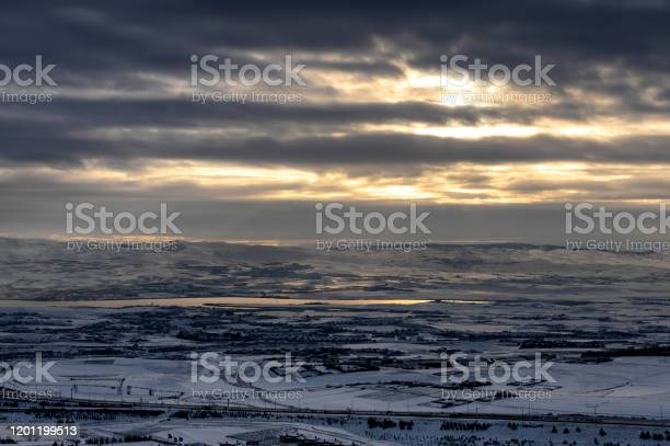 Winter Landscape Stock Photo - Download Image Now