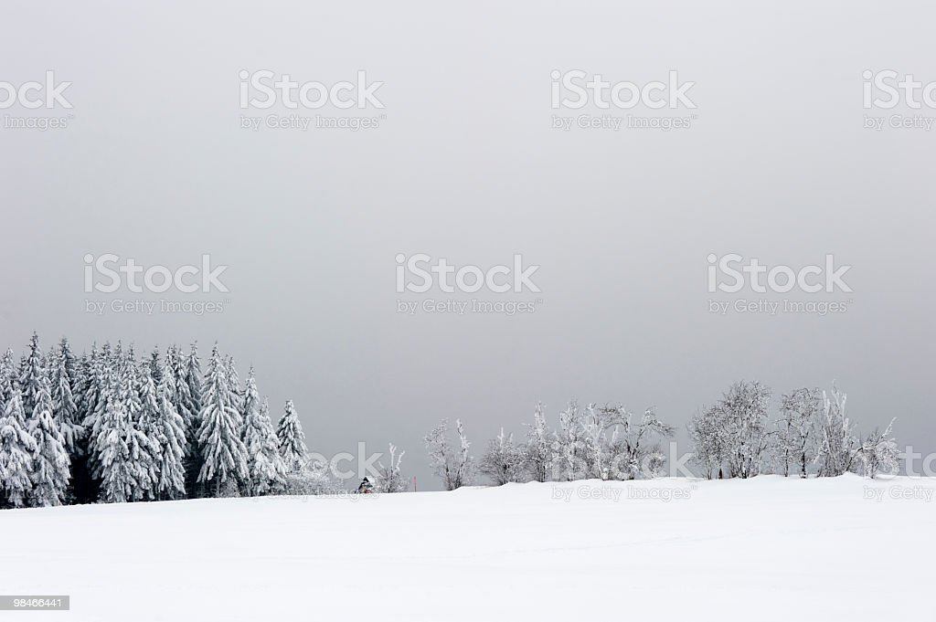 Paesaggio invernale foto stock royalty-free