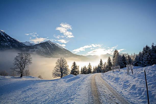 Winter landscape with icy road near salzburg in austria europe picture id622787190?b=1&k=6&m=622787190&s=612x612&w=0&h=nacj52anaxipbsxsqwodnuj2pcf2ak8q6szodqkqrre=