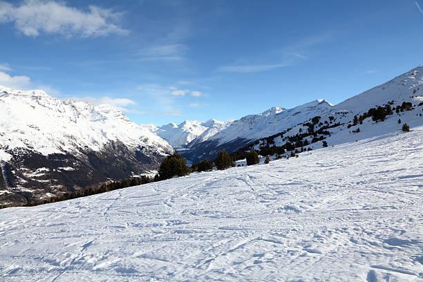 winter landscpae in Alpen – Foto