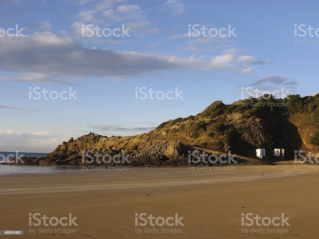 winter light by the sea royalty free stockfoto