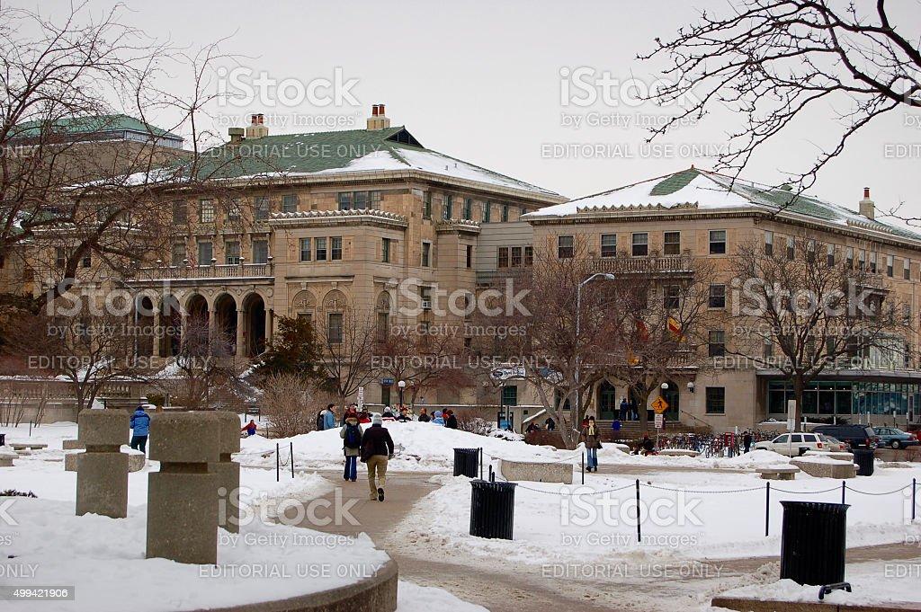 Fotografía de Invierno De Madison De La Universidad De Wisconsin y ...