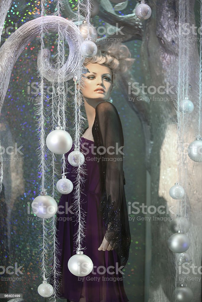Winter mannequin - Royalty-free Adult Stock Photo