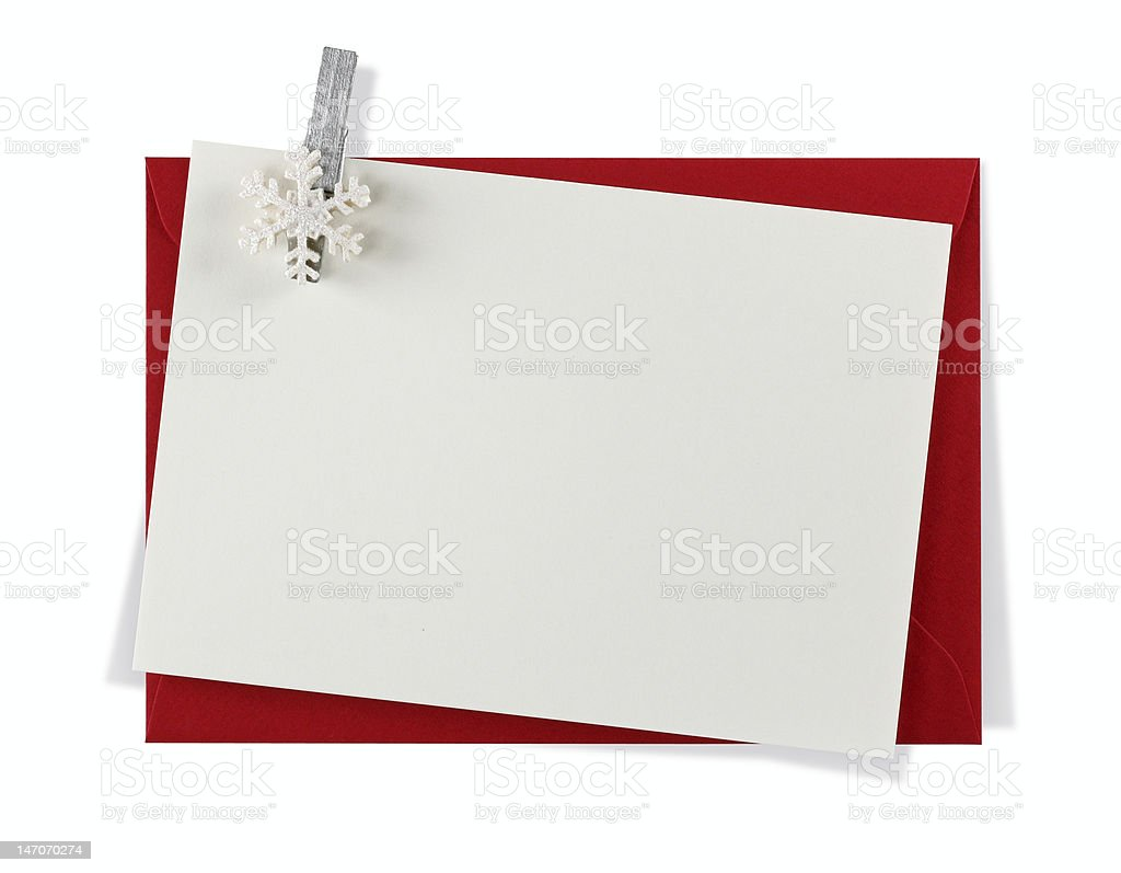 Winter message royalty-free stock photo