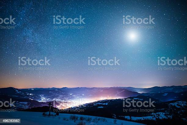 Photo of Winter moon